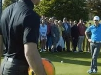 Wayne Rooney Rory McIlroy Nike FootGolf