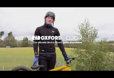 Zac Rainbow crashes with the OXFORD CLIQR