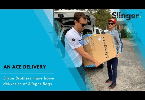 Slinger Bag home delivery by The Bryan Brothers