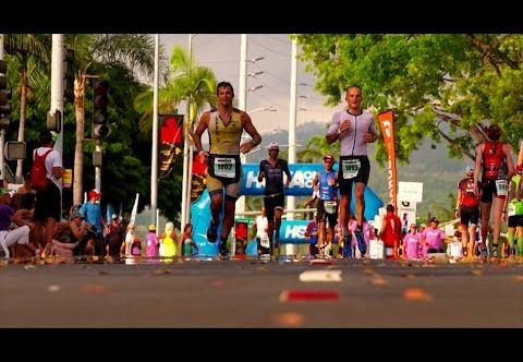 Partnership between Ironman and Hoka One One