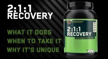 Optimum Nutrition Europe 211 Recovery EU Formula