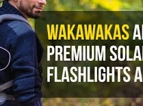 Premium solar powered flashlights & chargers