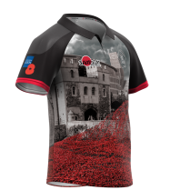 Army Rugby Poppy Shirt