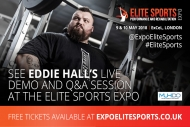 World's Strongest Man, Eddie Hall will be at The Elite Sports Expo