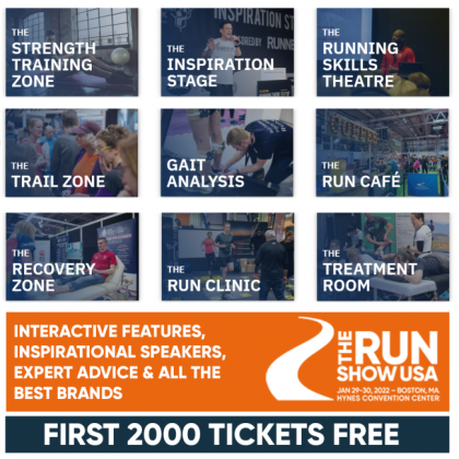 THE RUN SHOW USA: NEW RUNNING EXPO COMES TO BOSTON