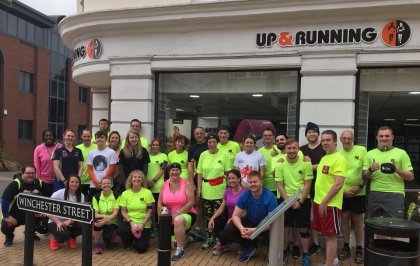 SRG (social run group) powered by up & running fuelled by you.