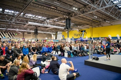 The National Running Show 2019 welcomes Up & Running, On and Hoka One One
