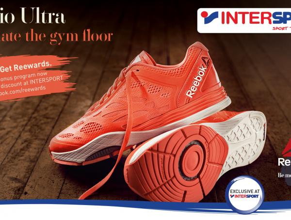 INTERSPORT Exclusive with Reebok Cardio Ultra  940b5c04c