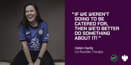 Women's football is not commercially viable? Try telling that to Helen Hardy