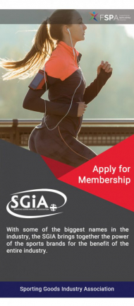 The Sporting Goods Industry Association (SGIA) represents manufacturers, wholesalers and distributor