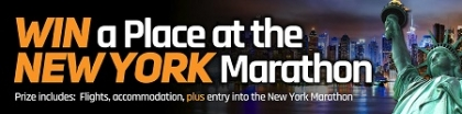 Win a place on the New York Marathon