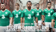 Canterbury unveils new Ireland home and alternate kits