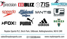 Reydon Sports PLC! The ONE stop for YOUR shop!