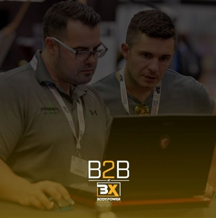 B2B at BodyPower Experience – The Forum for Fitness Industry Professionals