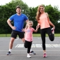 Ben Foden, his wife Una and their daughter Aoife
