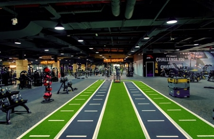 Ecore Resilient Flooring key component of first GymNation in UAE