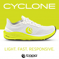 "Topo Athletic -  ""Cyclone is a game changer"""