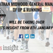 Jonathan Midwood, General Manager of Up & Running, will be taking over Sports Insight from 8th Jan