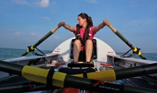 Physiotherapist Laura Penhaul talks about her life and rowing the Pacific