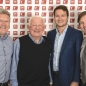 DW Group new CEO Martin Long with Dave Whelan, Matthew Sharpe and Scott Best.