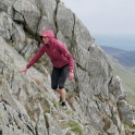 Nicky Spinks: Historic hat-trick, a gruelling challenge and a film star