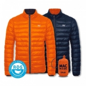 More bang for your buck with a class challenging packable RDS down jacket.
