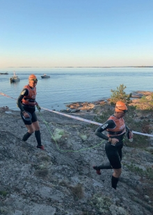Helen Wikmar and Emma Wanberg take on the gruelling Ötillö World Championship