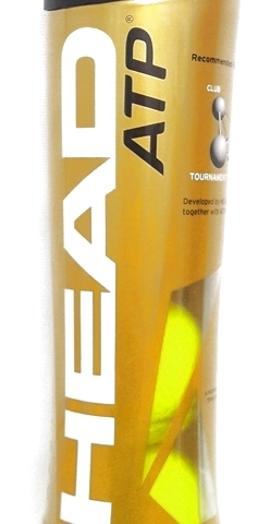 The iconic HEAD ATP ball features EncoreTM