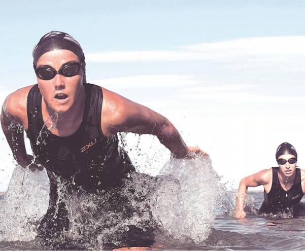 It's all going swimmingly - the discipline of Aquathon