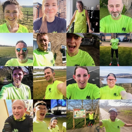 Up & Running is keeping the nation fit and healthy with our Social Run Group.