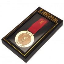 Taylor Football - Liverpool FC Paris 81 Replica Medal