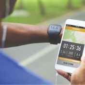 How has technology impacted the running market?