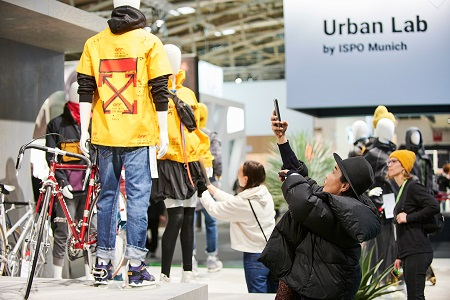 Meeting place for designers and creative people: the Urban Lab. Picture credit: ISPO