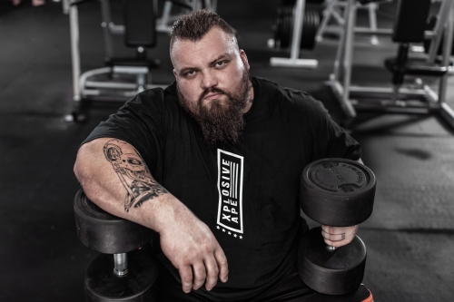 World S Strongest Man Eddie Hall Will Be At The Elite