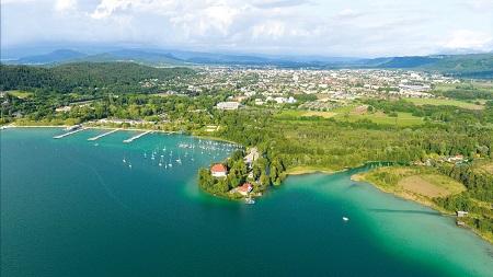 Klagenfurt Cityscape (Foto Horst/Klagenfurt Tourismus)