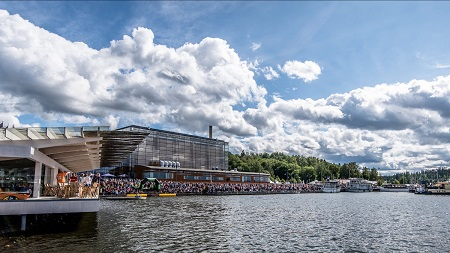 Lahti Cityscape (Teemu Ojapalo/IRONMAN Finland)
