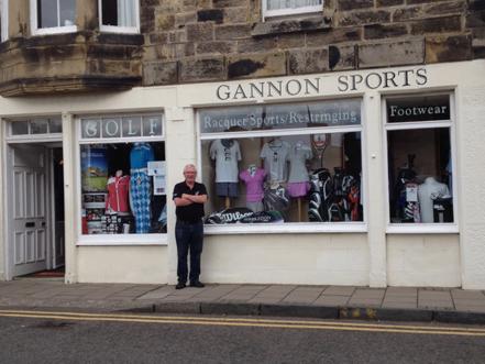 8c308778ada Talking Shop  Brian Gannon of Gannon Sports in Scotland
