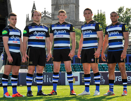 Canterbury and Bath Rugby unveil 150th anniversary kit