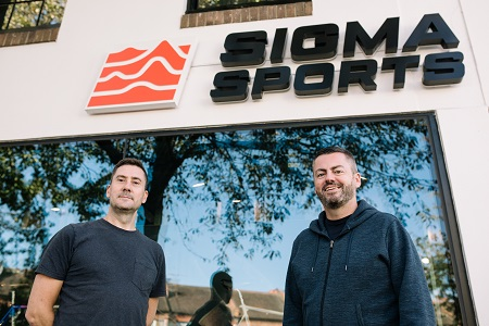 Sigma Sports founders Ian Whittingham and Jason Turner
