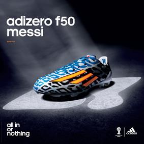 buy differently exquisite design Exclusive INTERSPORT & adidas adizero f50 Messi football ...