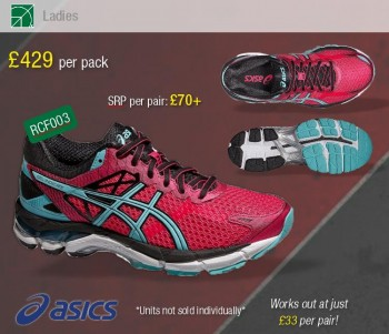 f33ea209e33e Speak to Reydons and make money with their ASICS Clearance Bundles ...