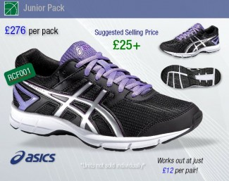 8a55fcf9acf9 Asics at Reydon Sports! Pay £276 + VAT and sell over £500 worth of product.