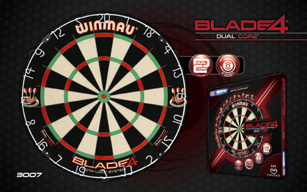 The Blade 4 Dual Core: reaffirming Winmau's pioneering role in the field of dartboard innovation